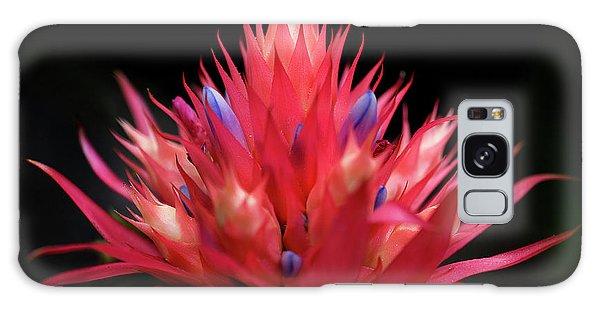 Flaming Flower Galaxy Case