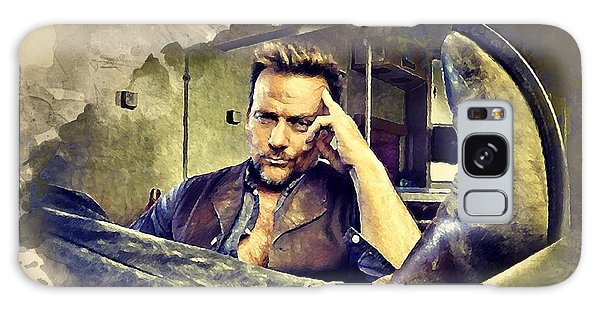 Flanery And His Cowboy Boot Galaxy Case