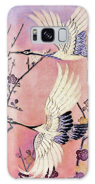 Flight Of The Cranes - Kimono Series Galaxy Case