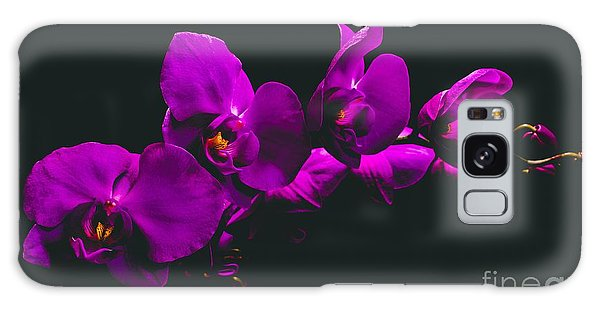 Conyers Galaxy Case - Floating Purple Orchid by Cory Brewington