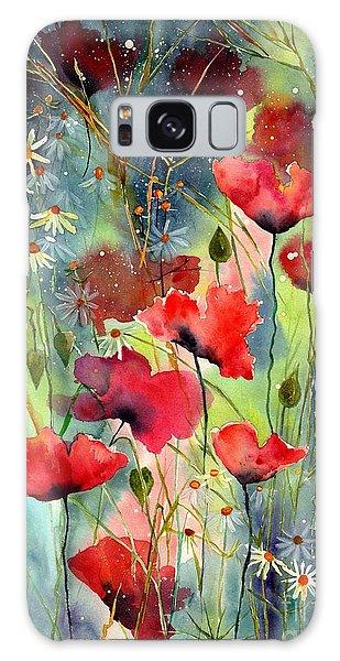 Indianapolis Galaxy Case - Floral Abracadabra by Suzann Sines