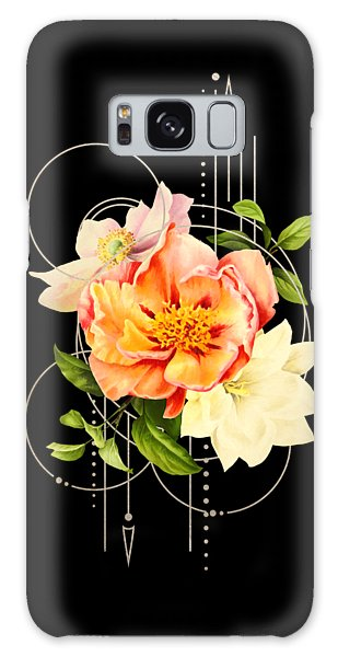 Floral Abstraction Galaxy Case