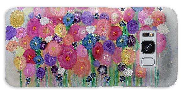 Floral Balloon Bouquet Galaxy Case