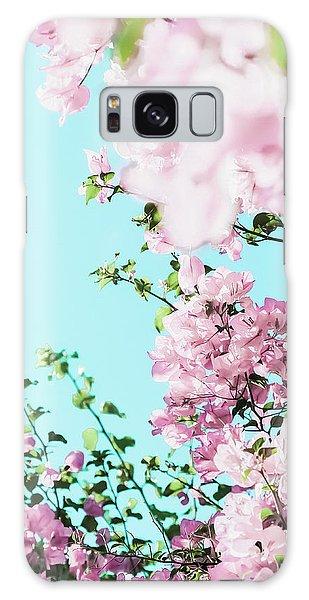 Floral Dreams I Galaxy Case