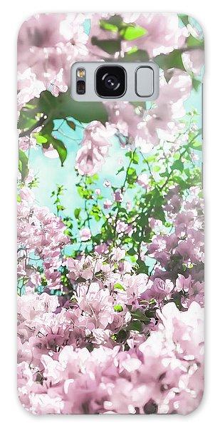 Floral Dreams Iv Galaxy Case
