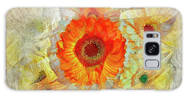 Galaxy Case featuring the digital art Floral Joy by Edmund Nagele