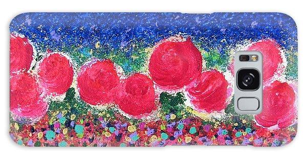 Floral Kaleidoscope Galaxy Case