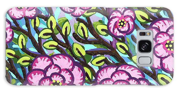 Floral Whimsy 3 Galaxy Case