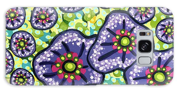 Floral Whimsy 4 Galaxy Case