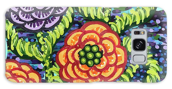 Floral Whimsy 5 Galaxy Case