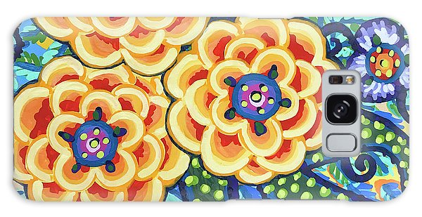 Floral Whimsy 9 Galaxy Case
