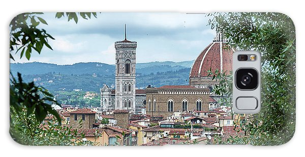 Florence And The Cathedral From The Boboli Gardens Galaxy Case