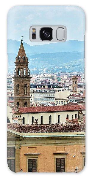 Florentine Cityscape Galaxy Case