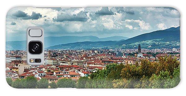 Florentine Cityscape From The Boboli Gardens Galaxy Case