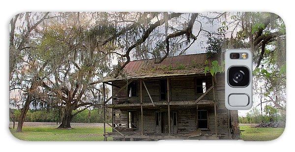 Florida Farmhouse Falls Apart Galaxy Case