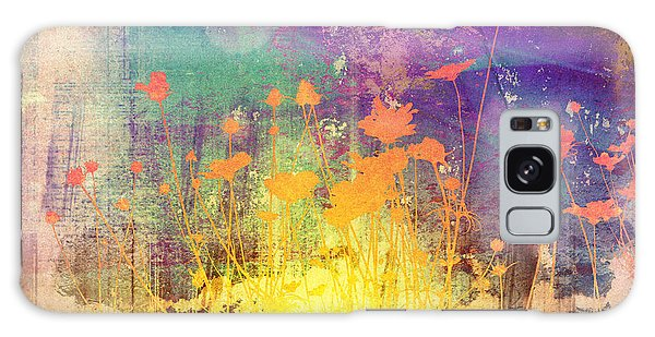 Mottled Galaxy Case - Flower Abstract Textures And Backgrounds by Ilolab
