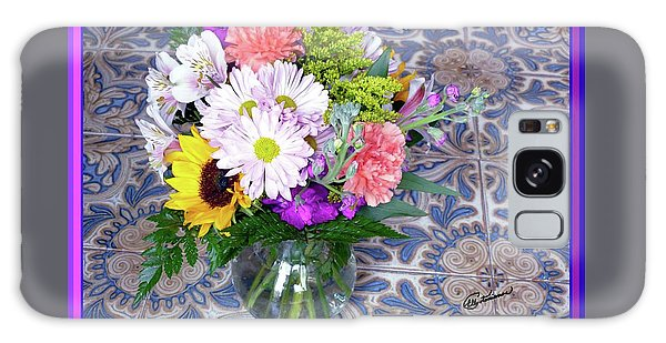 Flower Bouquet  Galaxy Case