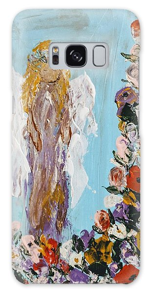 Flower Child Angel Galaxy Case