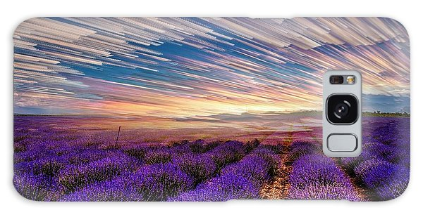 Flower Landscape Galaxy Case