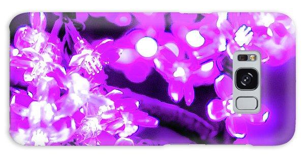 Flower Lights 2 Galaxy Case
