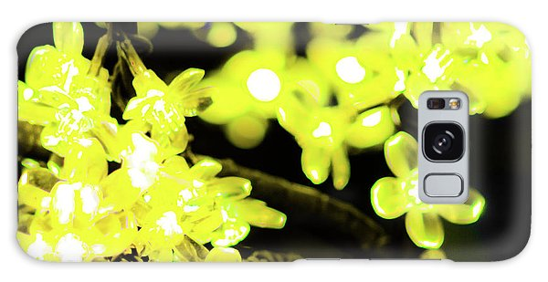 Flower Lights 6 Galaxy Case