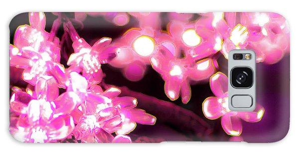Flower Lights 9 Galaxy Case