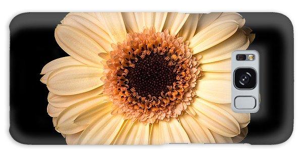Flower Over Black Galaxy Case