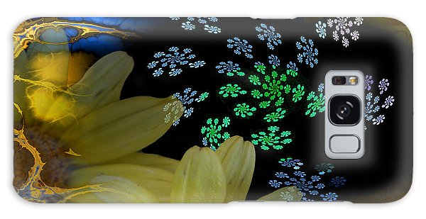 Flower Power In The Modern Age Galaxy Case