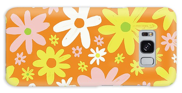 Flower Power Pattern Galaxy Case