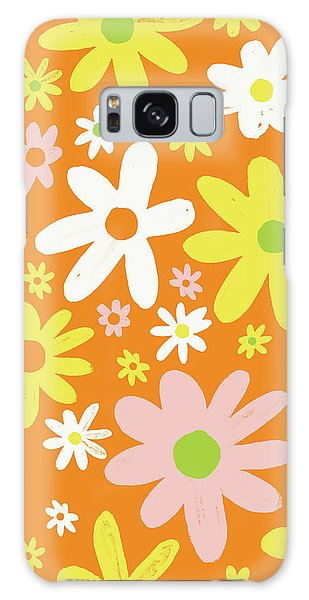 Flower Power Pattern Galaxy Case
