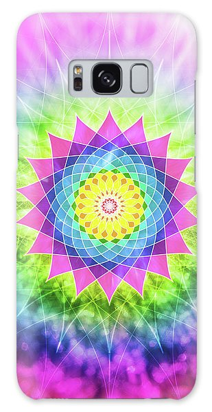 Flowering Mandala Galaxy Case