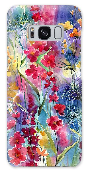 Indianapolis Galaxy Case - Flowers Fairy Tale by Suzann Sines