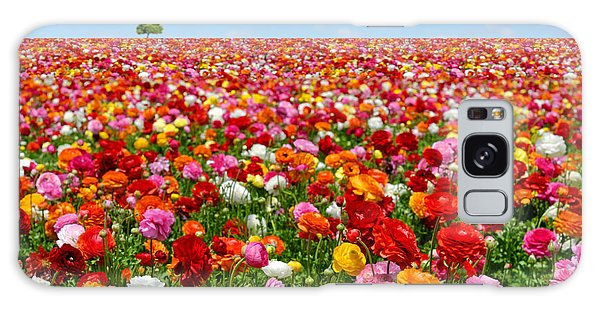 Pasture Galaxy Case - Flowers Field by Orientaly