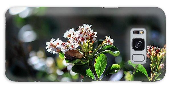 Beautiful Blooms Galaxy Case
