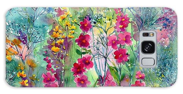 Hummingbird Galaxy S8 Case - Flowery Fairy Tales by Suzann's Art