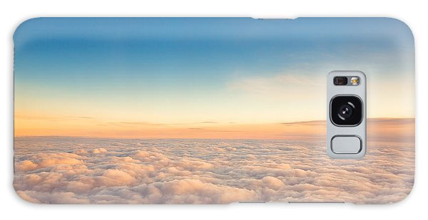 Cloudscape Galaxy Case - Flying Above The Clouds. View From The by Valentin Valkov