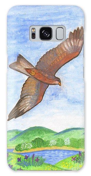 Flying Hawk Galaxy Case