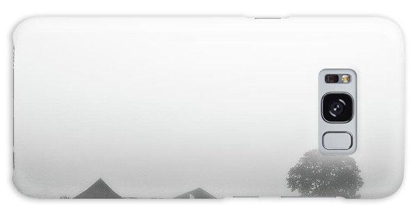 Fog And The Farm Galaxy Case