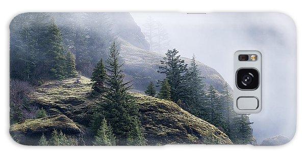 Foggy On Saddle Mountain Galaxy Case