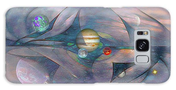 Folding Space Galaxy Case