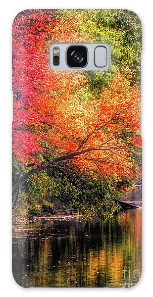 Foliage Over Forge Pond Galaxy Case