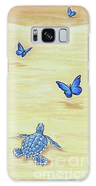 Follow The Butterflies Galaxy Case