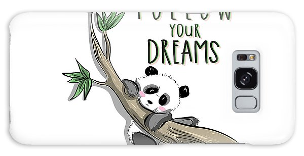 Follow Your Dreams - Baby Room Nursery Art Poster Print Galaxy Case