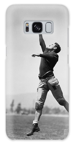 Physical Galaxy Case - Football Player Catching Ball by Everett Collection
