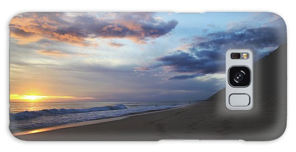 Cloudscape Galaxy Case - Footprints by Laurie Search
