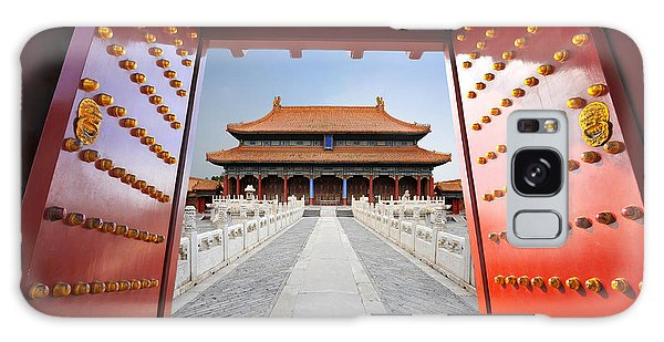 Historical Galaxy Case - Forbidden City In Beijing , China by Hung Chung Chih