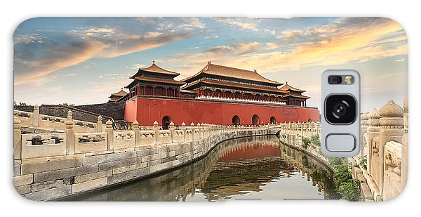 Travel Destinations Galaxy Case - Forbidden City In Beijing,china by Chuyuss