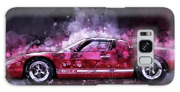 Ford Gt 40 Night Moves Galaxy Case