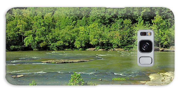 Galaxy Case featuring the photograph Forest At Cumberland River by Angela Murdock