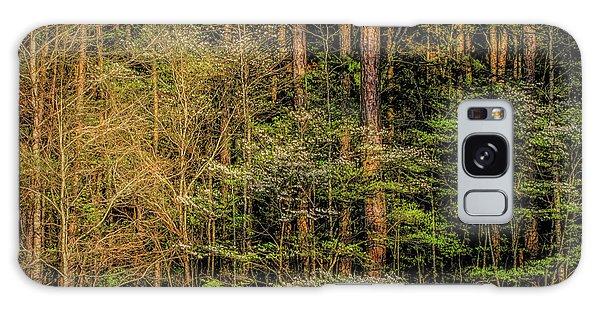 Forest Dogwood Galaxy Case